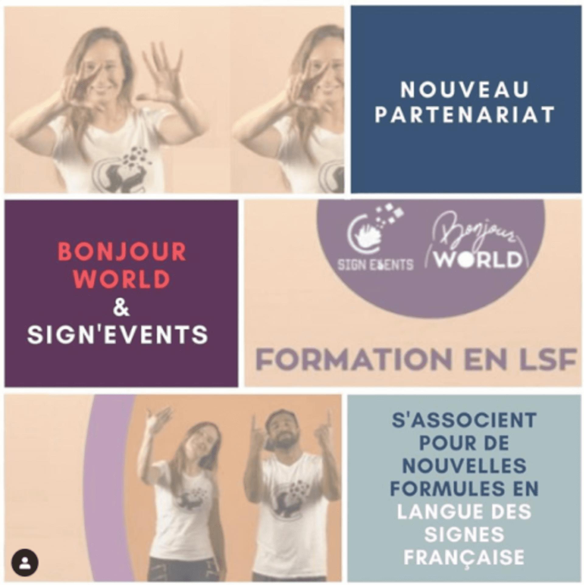S'initier et se former en prenant des cours de langue des signes