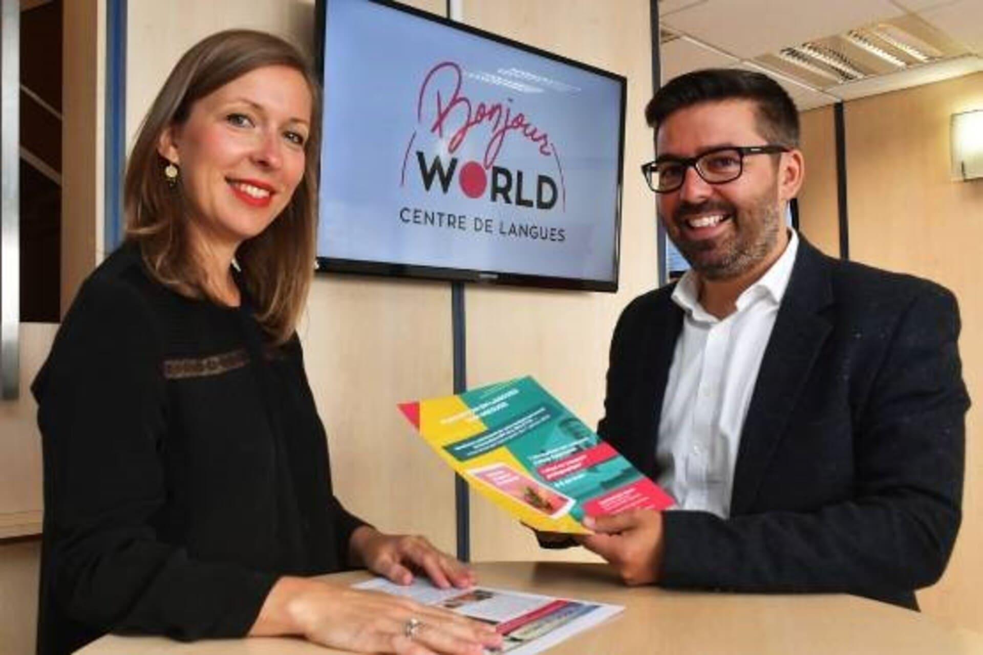 BONJOUR WORLD un centre de langues aux racines Auvergnates