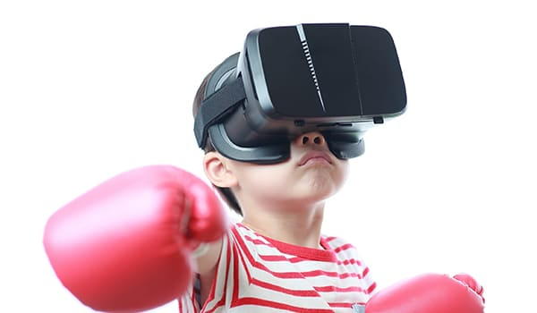 BONJOUR à la Réalité Virtuelle Appliquée pour apprendre l'anglais