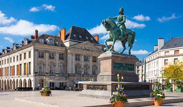 BONJOUR à Orléans et son centre ville